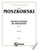 Fifteen Études de Virtuosité, Op. 72