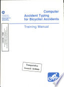 Computer Accident Typing For Bicyclist Accidents
