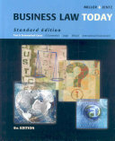Business Law Today  Standard Edition