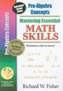 Mastering Essential Math Skills Pre algebra Concepts With Companion Dvd