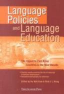 Language Policies and Language Education