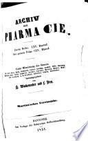 Archiv der Pharmazie und Berichte der Deutschen Pharmazeutischen Gesellschaft