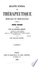 Bulletin g  n  ral de th  rapeutique
