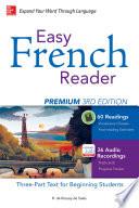 Easy French Reader Premium  Third Edition