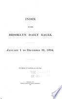 Index to the Brooklyn Daily Eagle Book PDF