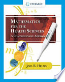 Mathematics for Health Sciences  A Comprehensive Approach