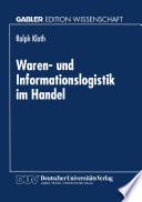 Waren  und Informationslogistik im Handel