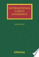 International Cargo Insurance