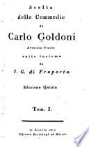 Scelta delle commedie di Carlo Goldoni