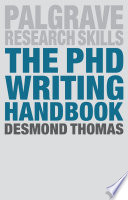 The PhD Writing Handbook