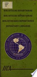 Bibliotecas depositarias  Bibliotecas depositarias  Bibliotheques depositaires  Depositary libraries