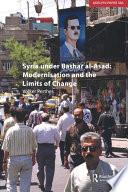 Syria under Bashar al Asad