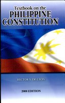 textbook on the philippine constitution