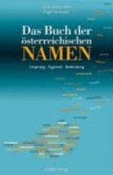 Das Buch der   sterreichischen Namen