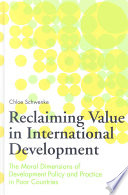 Reclaiming Value in International Development