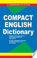 Compact English Dictionary
