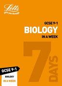 GCSE Biology in a Week
