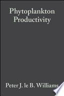 Phytoplankton Productivity