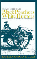 Black poachers  white hunters