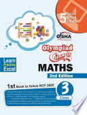 Olympiad Champs Mathematics Class 3 with 5 Online Mock Tests 2nd Edition