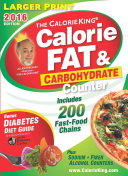 The Calorieking Calorie  Fat and Carbohydrate Counter 2016