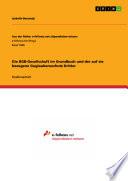 Die BGB-Gesellschaft im Grundbuch und der auf sie bezogene Guglaubensschutz Dritter
