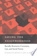 Saving the Neighborhood
