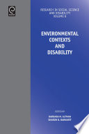 Environmental Contexts and Disability