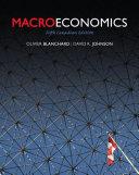Macroeconomics  Fifth Canadian Edition