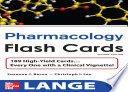 Lange Pharmacology Flash Cards