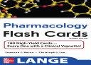 Lange Pharmacology Flash Cards