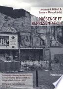 Présence et représentation colloque du Centre de Recherche sur les Conflits d'Interprétation, Université de Nantes, 2001