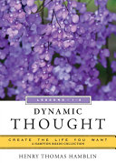 Book Dynamic Thought, Lessons 1-4