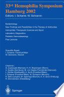 33rd Hemophilia Symposium