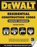 DEWALT 2015 Residential Construction Codes  Complete Handbook