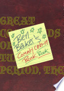 The Comedy Cash In Book Book