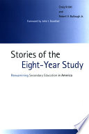 Stories of the Eight-Year Study Educational Experiments Of The Twentieth Century