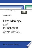 Law  Ideology and Punishment