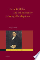 David Griffiths and the Missionary    History of Madagascar