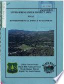 download ebook black hills national forest (n.f.), upper spring creek project area pdf epub