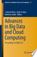 Advances In Big Data And Cloud Computing