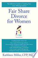 Fair Share Divorce for Women  Second Edition