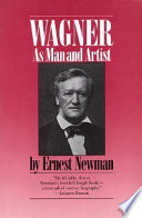 Wagner as Man   Artist