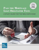 Pass the Mortgage Loan Originator Test