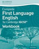 First Language English for Cambridge IGCSE® Workbook