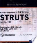 D  veloppement Java sous STRUTS  version 1 2