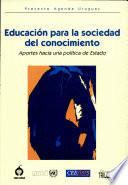 Educación para la sociedad del conocimiento