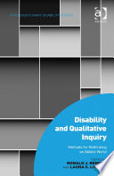 Disability and Qualitative Inquiry
