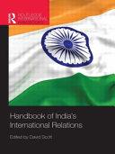Handbook of India s International Relations