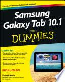 Samsung Galaxy Tab 10 1 For Dummies